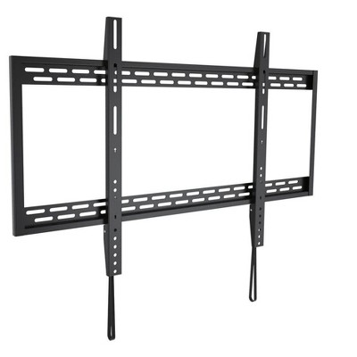 Monoprice EZ Series Low Profile Fixed TV Wall Mount Bracket for Wide Screen TVs 60in to 100in, Max Weight 220 lbs, VESA