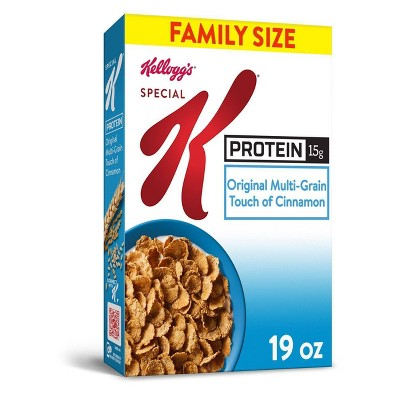 Special K Protein Family Size Breakfast Cereal - 19oz - Kellogg's