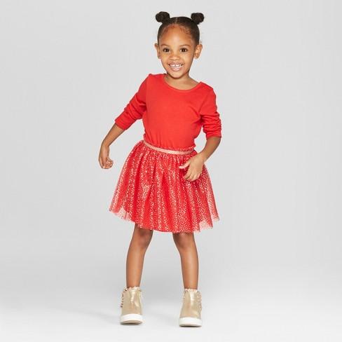 4bec5d71963 Toddler Girls  Tutu Dress - Cat   Jack™ Red 12M   Target