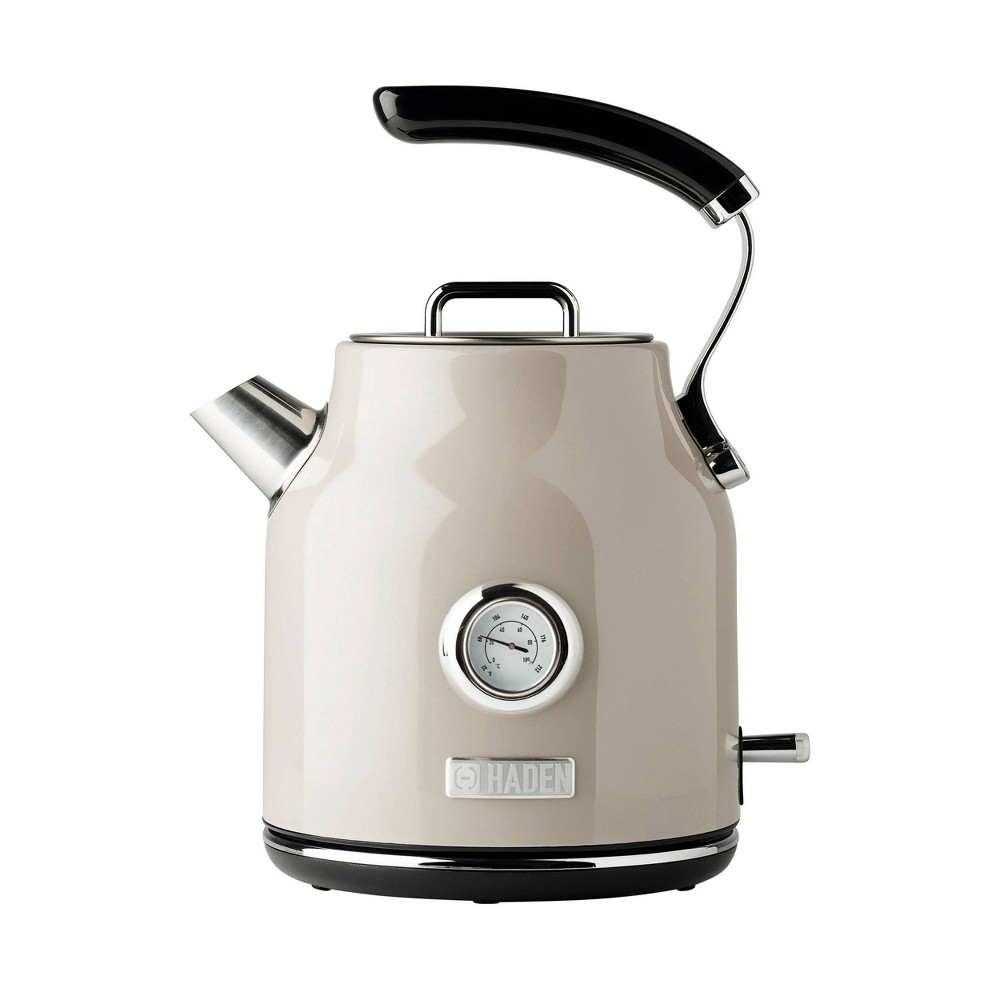 Image of Haden Dorset 1.7L Stainless Steel Electric Kettle - Beige
