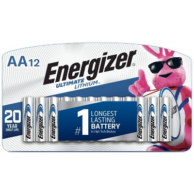 Energizer 12pk Ultimate Lithium AA Batteries