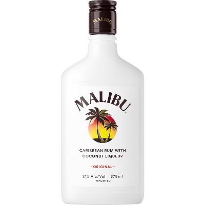Malibu Coconut Caribbean Rum - 375ml Plastic Bottle
