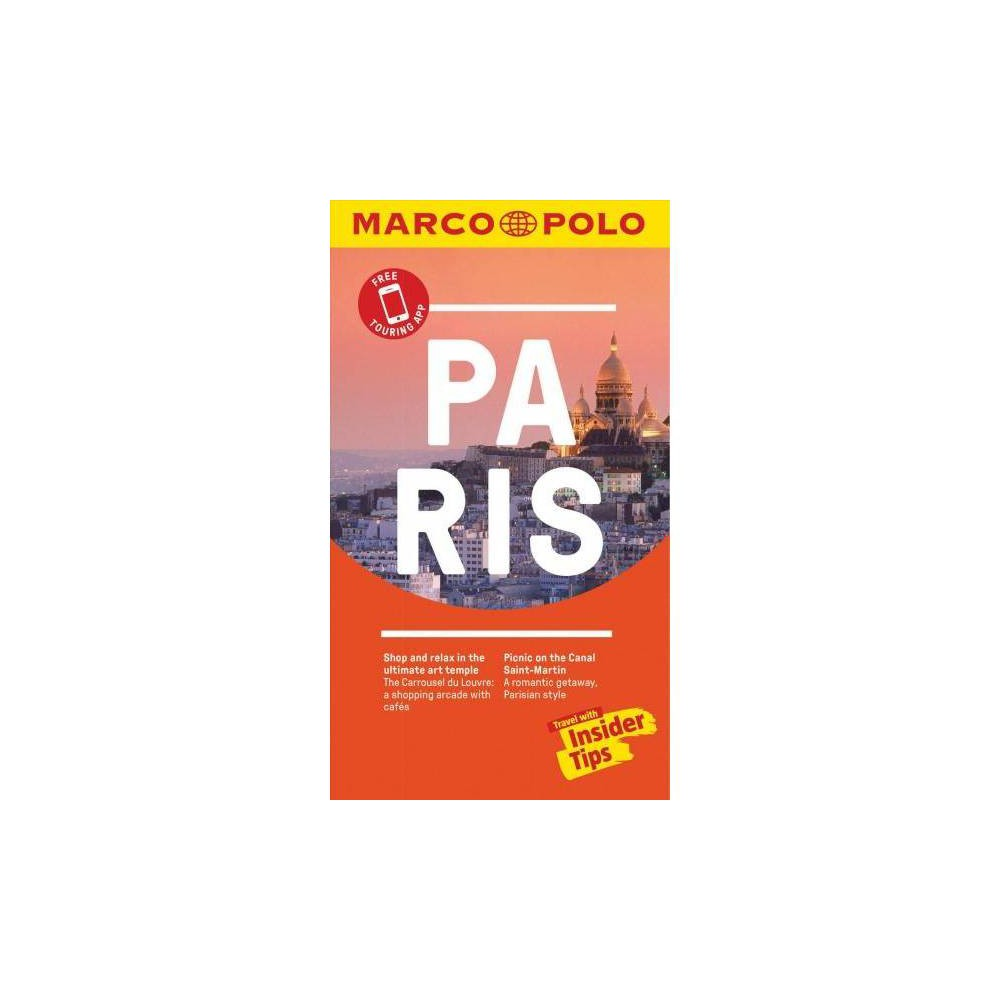Marco Polo Pocket Paris - Pap/Map by Marco Polo Travel Publishing (Paperback)