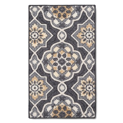 "1'8""X2'10"" Rugs Rowena Accent Rug Gray - Threshold™"
