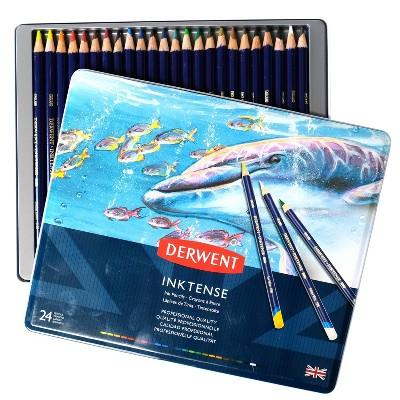 Inktense Pencil Set 24ct - Derwent