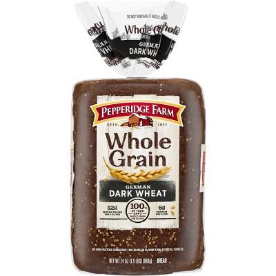 Pepperidge Farm Whole Grain German Dark Wheat Bread - 24oz