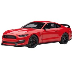 Ford Mustang Shelby GT-350R Race Red 1/18 Model Car by Autoart