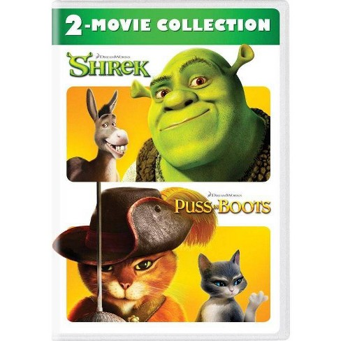 Shrek Puss In Boots 2 Movie Collection Dvd Target