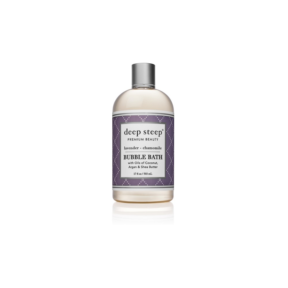 Image of Deep Steep Lavender & Chamomile Bubble Bath - 17oz
