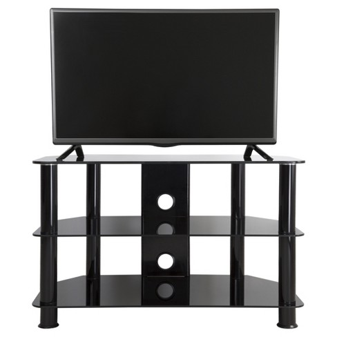 "Cable Management TV Stand Black 32"" - AVF - image 1 of 6"