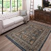 Woven Area Rug Floral - Threshold™ - image 4 of 4