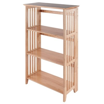 "42"" 4 Tier Foldable Bookshelf - Winsome"