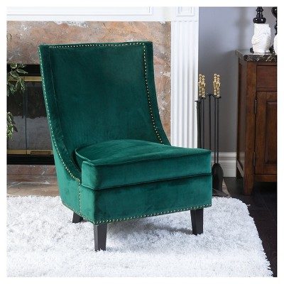 Incroyable Carole New Velvet Single Sofa Accent Chair   Green   Christopher Knight  Home : Target
