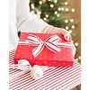 """1.0"""" x 15ft White with Red Stripe Grosgrain Ribbon - sugar paper™ - image 4 of 4"""