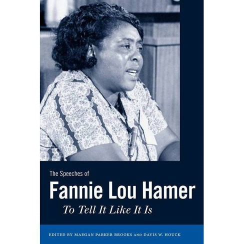 The Speeches of Fannie Lou Hamer - (Margaret Walker Alexander African American Studies) (Paperback) - image 1 of 1