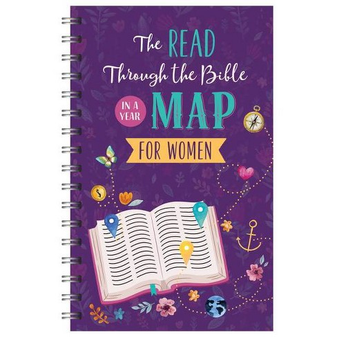 The Read Through the Bible in a Year Map for Women - (Faith Maps) by  Compiled by Barbour Staff - image 1 of 1