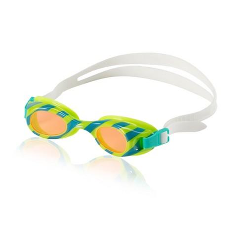 Speedo Kids Glide Print Goggle - Blue/Green - image 1 of 1