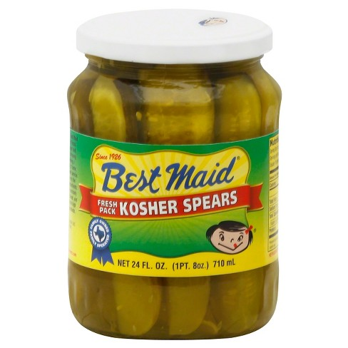 Best Maid Fresh Pack Kosher Pickle Spears - 24 fl oz - image 1 of 1