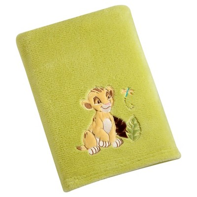 Disney Lion King Solid Coral Blanket