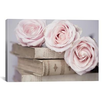 Vintage Roses by Symposium Design Canvas Print 12 x 18 - iCanvas
