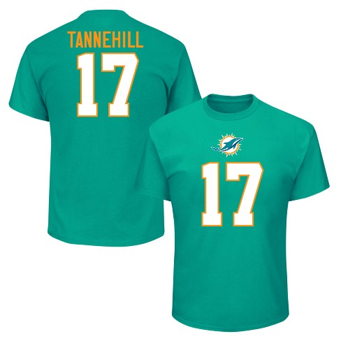 the best attitude d8bcc 8ef54 Miami Dolphins Men's Ryan Tannehill Jersey T-Shirt - M
