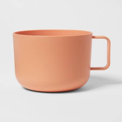 30oz Plastic Soup Mug Orange - Room Essentials™
