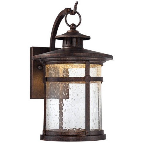 Rustic Outdoor Wall Light Fixture Led