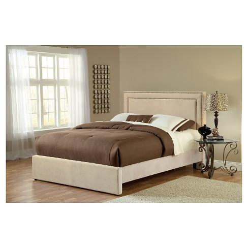 Carlyle Bed - Queen - with Rails - Buckwheat - Hillsdale Furniture - image 1 of 1