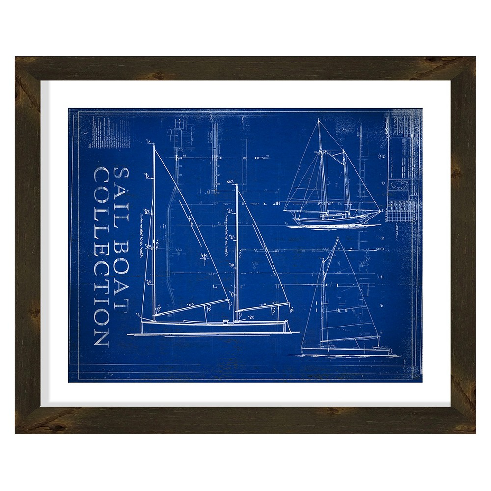 Sail Boat Collection Wall Art