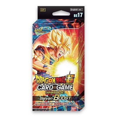Dragon Ball Super Trading Card Game Saiyan Boost Expansion Set