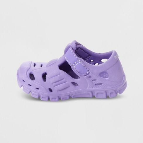 e948a87d9 Baby Girls  Surprize By Stride Rite Rider Land   Water Shoes - Purple    Target