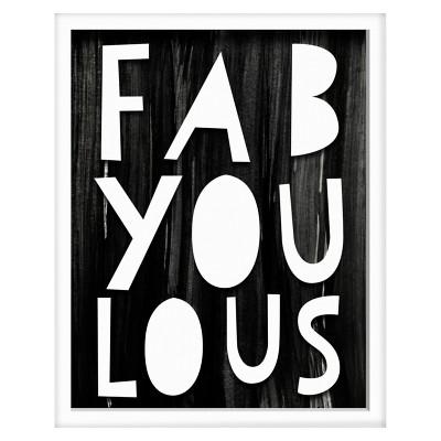 Fab-you-lous Screen Printed Glass Art - Pillowfort™