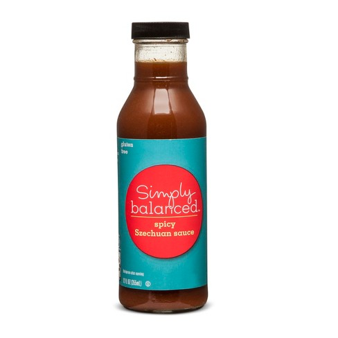 Szechuan Sauce Gluten Free 12oz - Simply Balanced™ - image 1 of 1