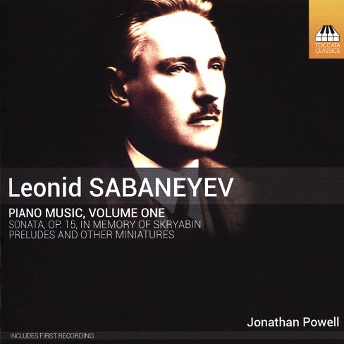 Jonathan Powell - Sabanayev:Piano Music (CD) - image 1 of 1