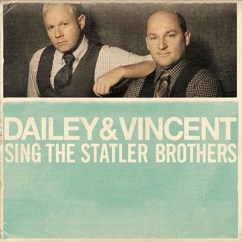 Dailey & vincent - Dailey & vincent sing the statler bro (CD) - image 1 of 2