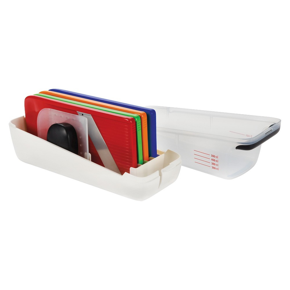Oxo Complete Grate and Slice Set, Multi-Colored