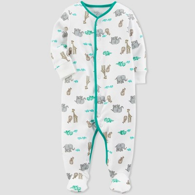 Baby Boys' Giraffe Sleep N' Play - little planet™ organic by carter's® Sand 9M