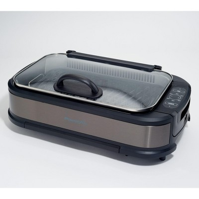 PowerXL 1500W Smokeless Grill Pro with Griddle Plate Model K50547 Refurbished