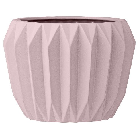 Ceramic fluted flower pot nude 6 3r studios target about this item mightylinksfo
