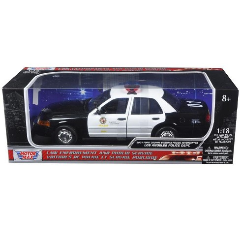 2001 Ford Crown Victoria Los Angeles Police Department Lapd Car 1 18