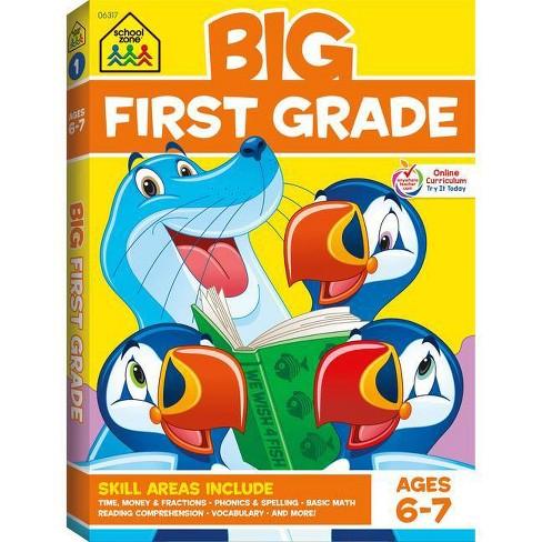 School Zone Big First Grade Workbook - image 1 of 4