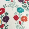 """14""""x26"""" Floral Pillow Cover Red - Rizzy Home - image 3 of 4"""