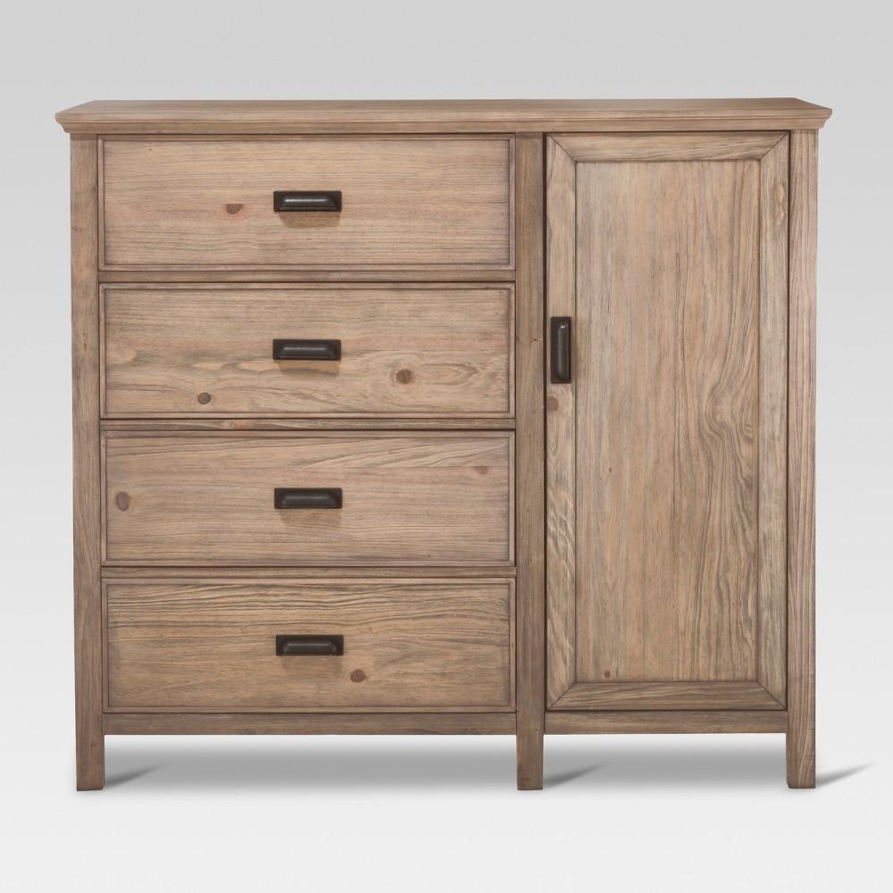 Gilford Wardrobe - Rustic Gray - Threshold