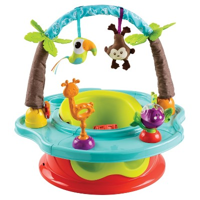 Summer Infant Deluxe Super Seat - Wild Safari