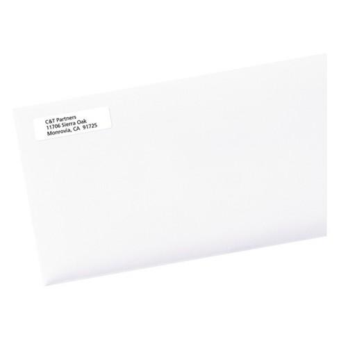 avery return address labels 1 2 x 1 3 4 white 20000 box target