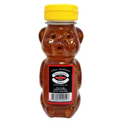 Hawaii Island Pure Lehua Wildflower Honey - 12oz