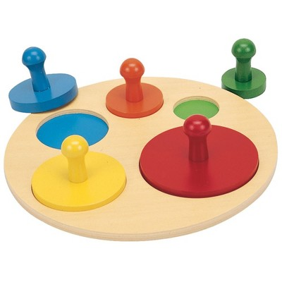 Guidecraft Circle Shape Sorting Puzzle