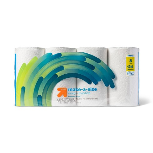 Make-A-Size Paper Towels - up & up™ - image 1 of 3