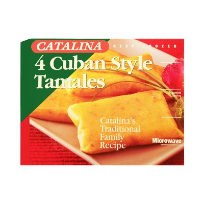 Catalina Cuban Style Tamales - 16oz - 4ct