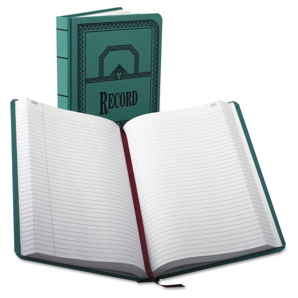 Boorum & Pease Record/Account Book, Record Rule, 500 Page...
